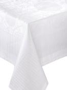 Garnier-Thiebaut, 174 x 304 cm Stain-Resistant Tablecloth, COTTON, white