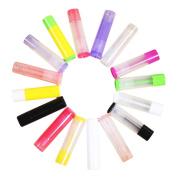 Vococal 50 PCS Lip Balm Container Tubes Capacity of 5g with Twist Mechanism For DIY Lip Balm Random Colour