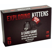 Exploding Kittens Card Game NSFW Edition For 2-5 Players with Accessory Elements Included (Age Group
