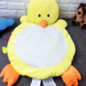Unimall Soft Comfortable Baby Toddler Playmate Cuddly Plush Fuzzy Toys Animal Mat for Baby Girls Newborn Birthday Christmas Gifts or Cat Dog Fleece Mat and Bed, Duck