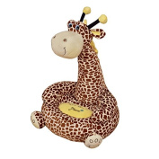 Children's Plush Giraffe Sitting Chair - Available in Pink or Brown - Free Delivery