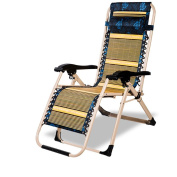 Ali Thick afternoon chair / folding bamboo chair / outdoor office summer chair / beach march lounge chair