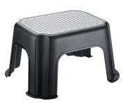 Rotho Basic Step Stool, Polypropylene, Black