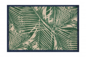 Lume Palm Frond Design by Turtle Mat Indoor Washable Nylon Multi-Grip Mat - 50X75cm