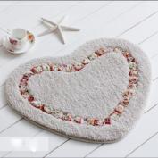 Pastoral care mats bathroom bathroom suction non - slip bedroom door mats door kitchen door carpet , 6 , 50*60cm