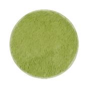Non-slip Doormats Carpet Fuibo 40*40CM Thickened Circular Carpet Mats Dining Room Bedroom Carpet Floor Mat