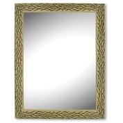 Kole Imports OS226 OS226 Ornate Oak Look Wall Mirror