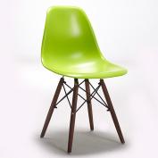 Chair walnut chair creative designer chair home dining room chair simple retro sales office chair (Colour
