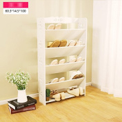 ZHDC® Simple modern shoe rack multi - storey household cabinet cabinet shoe - type economic shoe racks simple shoes frame Saving space