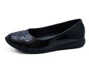 HeelzSoHigh Girls Kids Childrens Juniors Black School Uniform Smart Flat Shoes Pumps Sizes 12-3