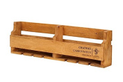 Hollyberry Home Rack Holds 8 Bottles-Chateau Carbonnieux, Wood, Natural, 13 x 113 x 27 cm