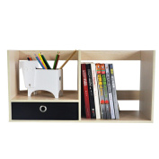 Small Book Shelves With Drawers Shelves Storage Rack Pastoral Creative Shelves