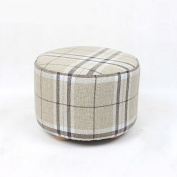 Footstools Solid Wood For Shoe Stool Fashion Wearing A Shoe Stool Creative Square Stool Fabric Stool Sofa Stool Coffee Table Bench Stool Stool Ottomans