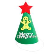 SOMESUN 1pc Non-woven Merry Christmas Decoration Santa Hat Festival Gift Xmas Cap Decor
