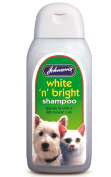 Johnsons White N Bright Shampoo for Cats and Dogs 200ml