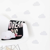 V & C Designs (TM) Pack of 30 Clouds Wall Stickers Decals Boys Room Girls Room Baby Nursery Wall Art Decor