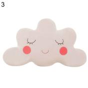 Sundatebe Smile Cloud Pillow Cute Cushion Nursery Cushions for Home Sofa Bedroom Decor