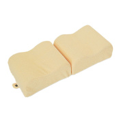 Fanxing Fashion Style Knee Pillow Memory Foam Leg Pillow For Leg Back Hip Pain Relief Foldable