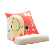 Cartoon Cute Triangle Bed Big Cushions Office Waist Backrest Bed Neck Protection Pillow Sofa Pillow Cushions