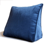 Luxury Bedside Triangle Pillows Sofa Large Pillows / Large Cushions Waist Pillow Office Cushions Sofa Backrest Solid Colour