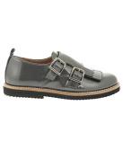 Beberlis Shoe 2 Grey Buckles