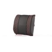 Car lumbar pad Office seat cushion Memory Foam Breathable durable Seat accessories Anti-fatigue decompression Ergonomic , coffee