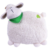 Daisy The Irish Sheep Pillow, 26cm in Height And Cream And White Colour