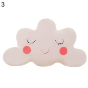 Dexinghaoye Cute Cloud Shaped Pillow Cushion Stuffed Plush Toy Bedding Home Decoration Gift