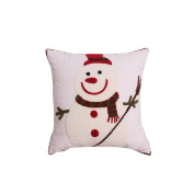 doll Pillow Christmas present bed linings Room decorations kids toys Office seat backrest seat cushion Travel accessories Send family friend Love the best Christmas present , white