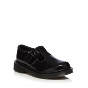 Dr. Martens Kids Girls' Black Leather School Shoes