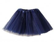 DIKEWANG Baby Girls Fashion Women Ballet Dress Tutu Layered Organza Lace Mini Skirt