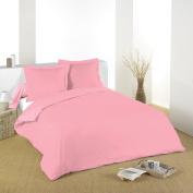 Lovely Casa d24820017 Alicia flat sheet cotton Flamingo 300 x 240 cm