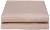 Garnier-Thiebaut 28523 Ava Flat Sheet Plain Cotton Lua 300 x 270 cm