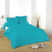 Lovely Casa d14820020 Alicia Duck Cotton Flat Sheet 180 x 290 cm