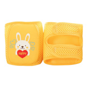 Enerhu Cartoon Baby Anti-slip Knee Pad Protector Toddler Elbow Pads Kneepads Yellow