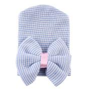 Baby Beanies Hat, Newborn Infant Girls Boys Winter Warm Stripe Bowknot Knitted Cap