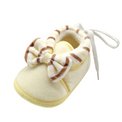 IGEMY Cute Girls Boys Newborn Warm Toddler Bowknot Soft Sole Boots Baby Shoes