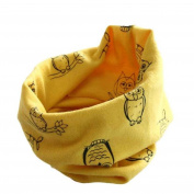 S-LOVE Lovely Baby Girl Multi-pattern Collar Infant Scarf Cotton O-ring Scarves