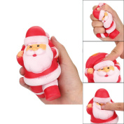 Rcool Cute Stress Reliever Squishy Squeeze Christmas Santa Claus Super Slow Rising Fun Soft Toy Cellphone Key Chain Charm Pendant Strap Kid Gift