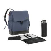Lässig Vintage 1103004431 Little One & Me Nappy Bag Backpack Blue