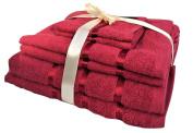 Glamptex (tm) 100% Cotton 500gsm 3 Pieces Bath Sheets, Bath Towels, Hand Towels Set Hotel Grade