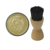 Woly Bisquit Shoe Cream 50ml & Fresh Step Luxury Application Brush
