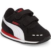 Puma Cabana Racer Mesh V Inf – Trainers – black/red/white 22 EU