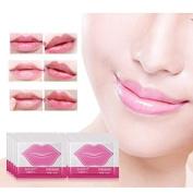 Wanshop 10 Pcs Sexy Collagen Crystal Lip Care Mask Anti-Ageing Membrane Moisture