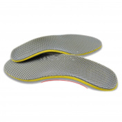 WFS Comfortable Orthotic Shoes Insoles Inserts Arch Support Pad for size 6 - 11 UK