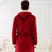 LKKLILY-Flannel pyjamas, sleepwear and loungewear Pyjama men and women couples thick mink plush pyjamas
