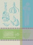 Garnier-Thiebaut 25525 Line Viscose from Bamboo/Cotton Bath Mat 50 x 100 cm Ecru