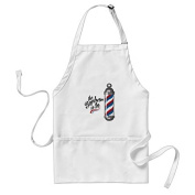 sunningq Barber Is In Adult Apron