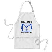Sunningq Real Men Wear Aprons - Masonic