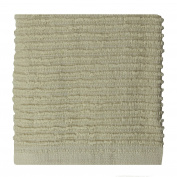 MUkitchen 100% Cotton Ridged Dishcloth, Oatmeal - 30cm x 30cm